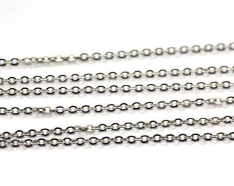 2 m stainless steel link chain 2 mm