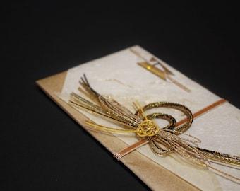"""34.Mizuhiki envelopes This envelope is used for each celebration. A special envelope called """"noshibukuro"""""""