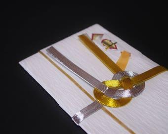 """46.Mizuhiki envelopes This envelope is used for each celebration. A special envelope called """"noshibukuro"""""""