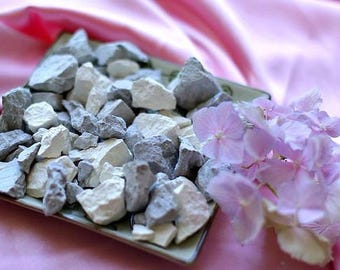 """Clay MIX """" AZOV FRESHNESS"""", edible clay, Clay Chunks, Organic clay, 100% pure natural, Cleaned, earthy and edible clay"""