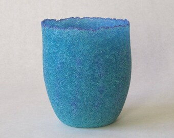 pate de verre (glass) vessel g17-021