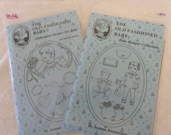 Heirloom Patterns for Babies Set of 2 Uncut