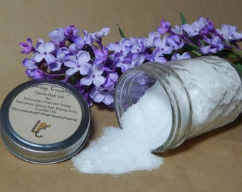 All Natural Epsom Bath Salts, Detoxifying Bath Salts, Relaxing Bath Salts, Rejuvenating Bath Salts, Stress Relief Bath Salts