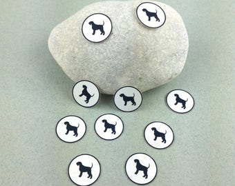 "Small sticker Kit ""Giant Schnauzer"" Minis"