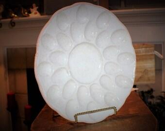 Speckled Egg Plate for 24 Eggs