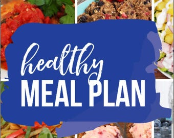 BUNDLE | Healthy Meal Plans eBooks | 2017 & 2018 eBooks Included
