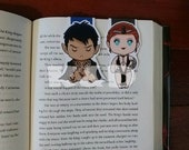 Magnetic Bookmark . High lord and Lady Nightmares