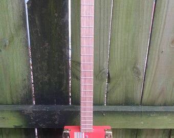 Cigar Box Guitar 3 String Acoustic/Electric