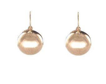 Dangle earrings silver Renaissance Vermeil 18K rose gold Stud Earrings