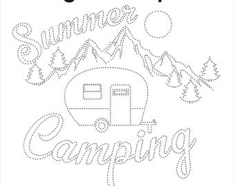 String Art Template Camper String Art Pattern Camper Gifts String Art Diy String Art Ideas String Art Pattren String Art Camping Camper