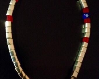 Minimalist bracelet with Miyuki beads