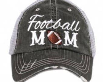 """KatyDID Trucker Hat """"Football Mom"""""""