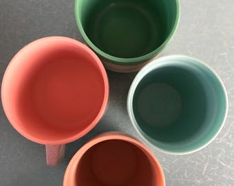Vintage Cornish therm o coffee cups and tumblerettes
