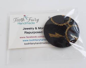 Wrap Scrap Magnet - Natibaby - Indivisibility Cloak - Black - Wizard - Lightning Bolt - Geek Gift