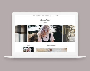 Clementine | Responsive Blogger Template