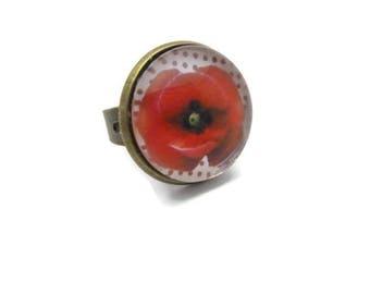"Ring round orange ""poppy"" collection"