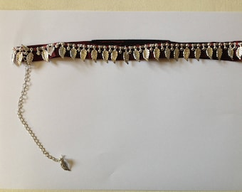 Headband Ribbon and leaves