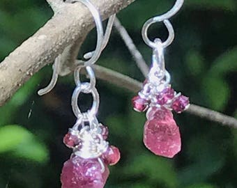 Tourmaline tantalizer earring