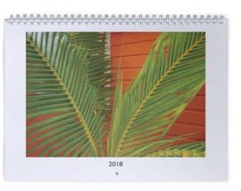2018 Island Beach Calendar