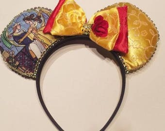Beauty and the Beast Disney Inspired Ears