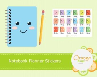 Notebook Stickers, Study Stickers, Back to School Stickers, Exam Stickers, Bujo Study Stickers, Happy Planner, Erin Condren