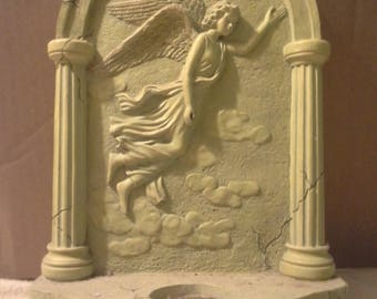 wall angel decor sconce