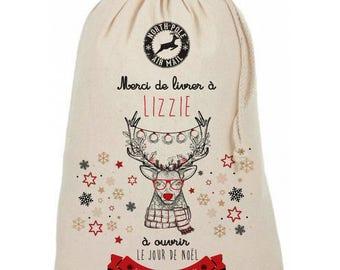 XL custom Christmas deer hipster pattern bundle