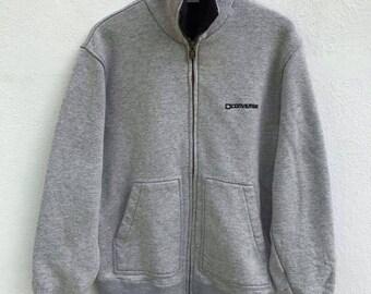 Converse Jacket Vintage Converse Zipper Sweater Sweatshirt Spell Out Converse Casual Longsleeve Swag Hip Hop sz 160