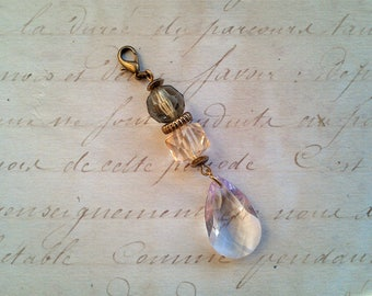 Jewelry attachments, bag pendant, vintage