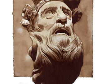Greek Sculpture Print