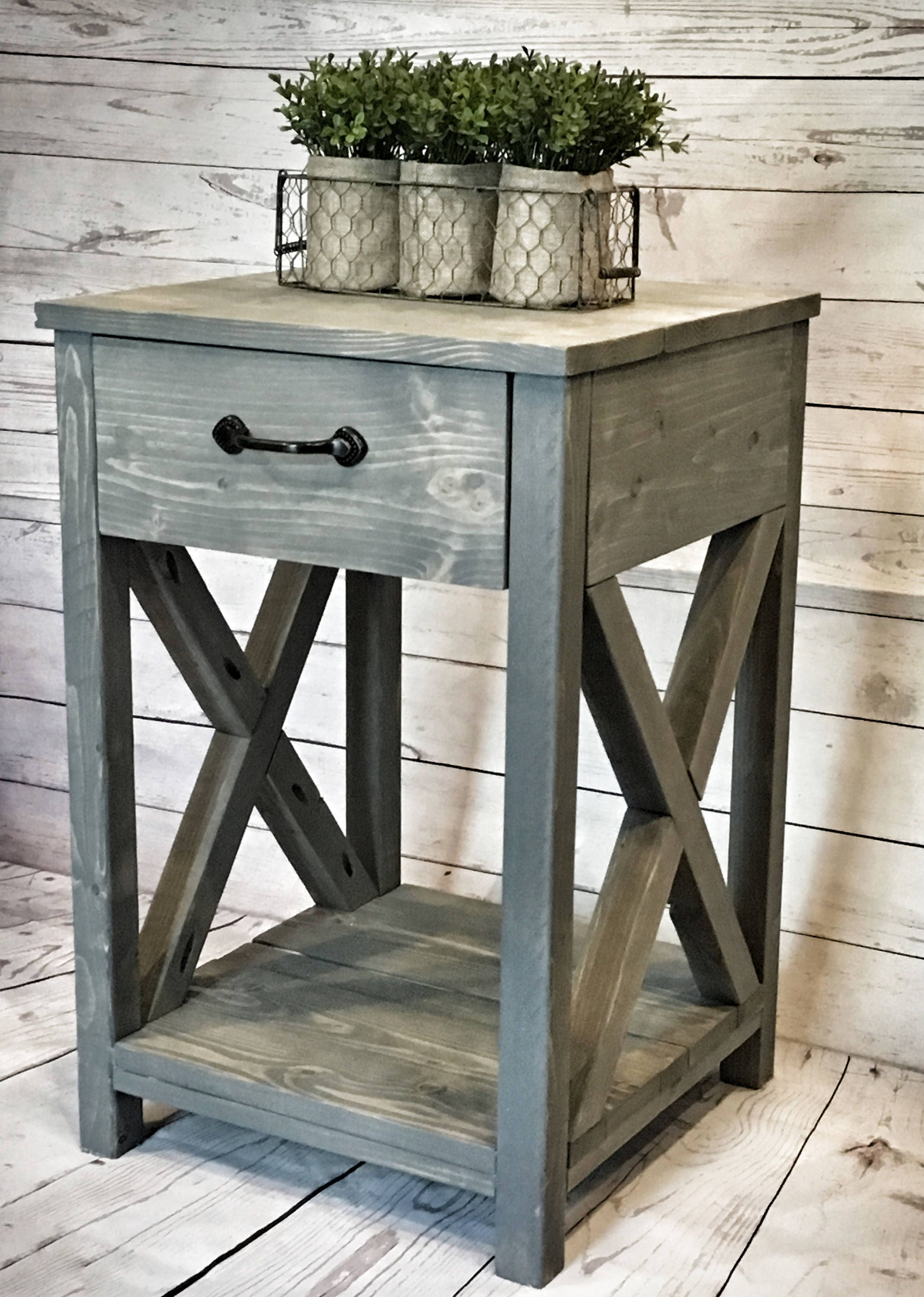 Nightstand Table: Nightstand /side Table/ End Table/ For The Home/ Bedroom/