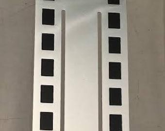 Silver Plated Antonio Miro Black Cinema Bookmark by Cunill