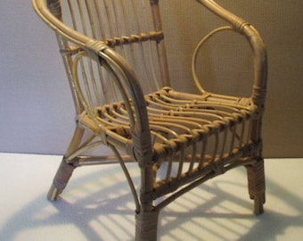 From the 60s/70s rattan chair child