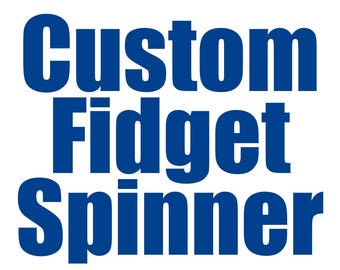Custom Design Fidget Spinners (10 Pack) with your Logo