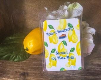 Lemon Blueberry Wax Melts - Bakery Scented Wax Melts - Scented Wax Melts - Highly Fragrant - Best Selling Scents - Melts - Tarts - Wax Tart