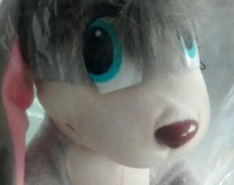 "Anastasia Pooka Dog Plush Doll Stuffed Animal 20th Century Fox Vintage 1997 -10"""
