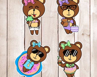 Summer Time Die Cuts CoCo DC 013
