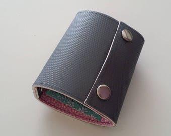 Recycled - Card holder recycled rigid linoleum grey n 21