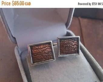 ON SALE Vintage Sterling Silver Cufflinks
