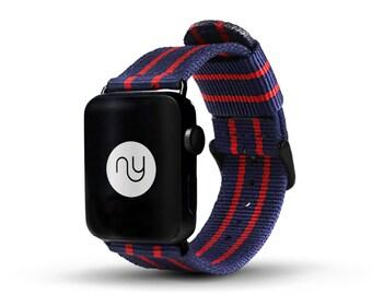 Apple Watch band Daniel Wellington style nylon strap - NATO for Apple Watch - Seafarer