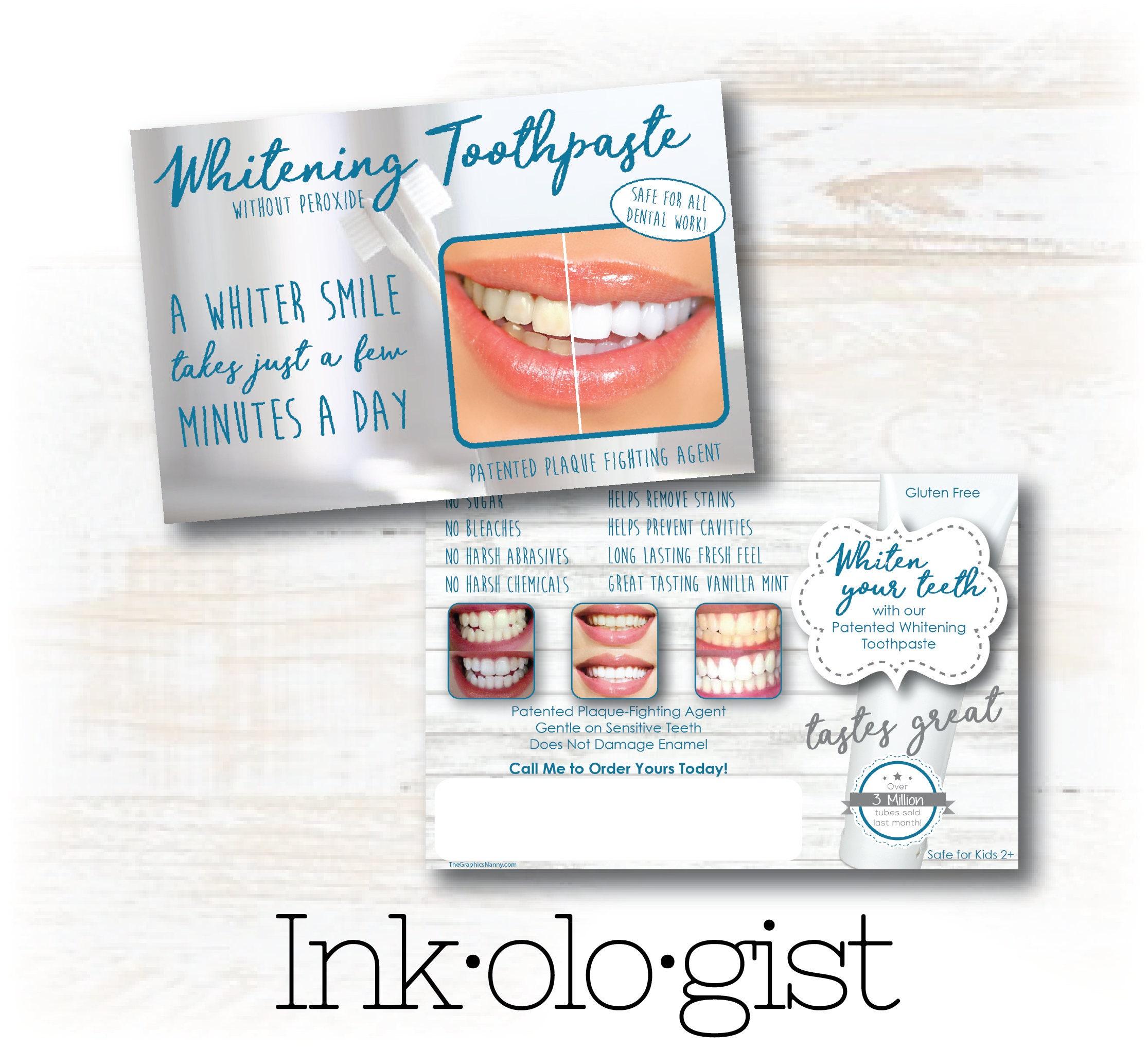 nu skin toothpaste ap24 postcard nu skin brochure nu skin