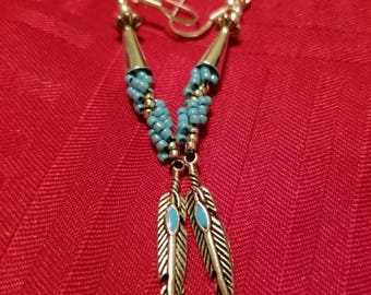 Feathers Hook Earrings