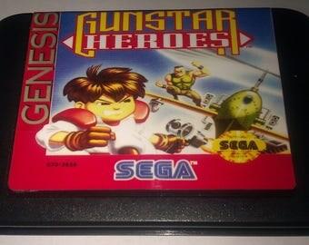 Gunstar Heroes - Sega Genesis