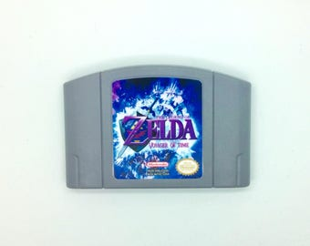 Zelda Voyager of Time N64 Repro Fan Mod N64 Reproduction