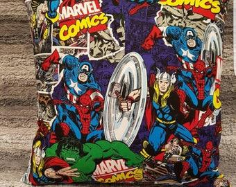 Marvel dc comics pillow, dc comics pillow, spiderman pillow, thor pillow, captain america pillow, iron man pillow, marvel cushion, dc comic.