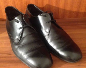 1950s 1960s leather derby dress shoes top notch brand bally switzerland
