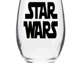 Star Wars Wine Glass