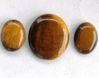 Black Tiger Eye Cabochon 64.3 Ct (28x25x6 mm) Oval Natural gemstone,Fancy Cabochon, Semi Precious Stone Cabochon for Pendent & Jwellary