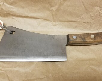 Vintage Briddell Meat Cleaver- Heavy!