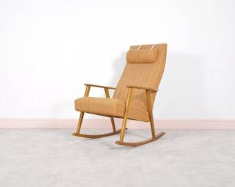 Mid Century Modern Johanson Design Rocking Chair,1960s